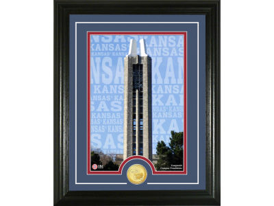 Kansas Jayhawks Campus Traditions Photo Mint