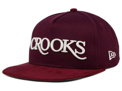 Crooks & Castles Thuxury Serif 9FIFTY Strapback Cap