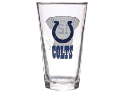 Indianapolis Colts Andrew Luck Player Jersey Pint Glass
