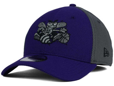 Charlotte Hornets New Era NBA HWC Graphite Team Color 39THIRTY Cap