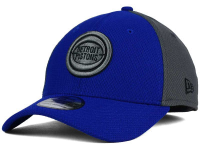 Detroit Pistons New Era NBA HWC Graphite Team Color 39THIRTY Cap