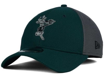 Milwaukee Bucks New Era NBA HWC Graphite Team Color 39THIRTY Cap