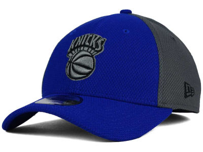 New York Knicks New Era NBA HWC Graphite Team Color 39THIRTY Cap