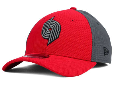 Portland Trail Blazers New Era NBA HWC Graphite Team Color 39THIRTY Cap