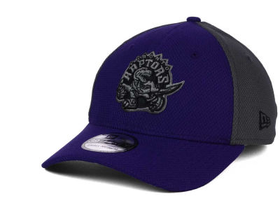 Toronto Raptors New Era NBA HWC Graphite Team Color 39THIRTY Cap