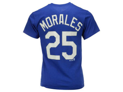 Kansas City Royals Kendrys Morales  Majestic MLB Men's Official Player T-Shirt