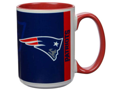 New England Patriots 15oz Super Fan Inner Color Mug