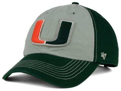 Miami Hurricanes '47 NCAA Mcgraw Champions '47 CLEAN UP Cap
