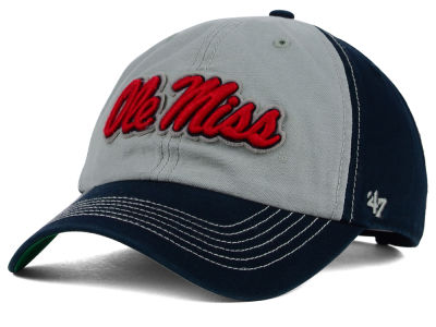 Ole Miss Rebels '47 NCAA Mcgraw Champions '47 CLEAN UP Cap