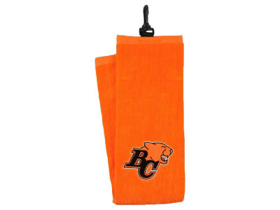 BC Lions CFL Tri-Fold Terry Towel
