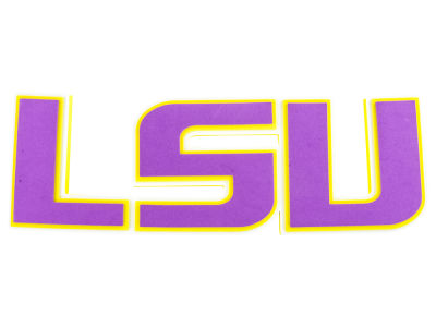 LSU Tigers 3D Foam Wall Sign