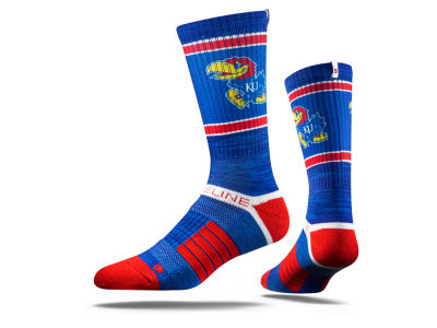 Kansas Jayhawks NCAA Strideline Crew Socks
