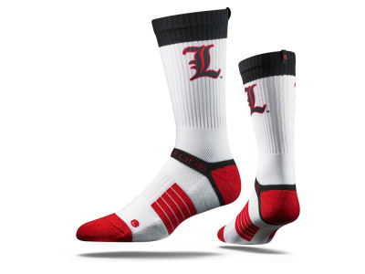 Louisville Cardinals Strideline NCAA Strideline Crew Socks
