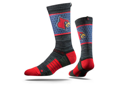 Louisville Cardinals NCAA Strideline Crew Socks