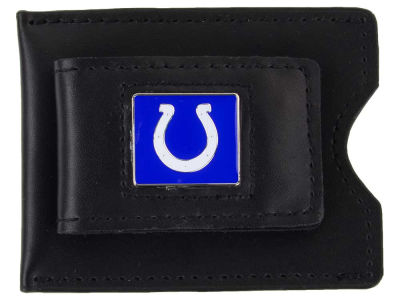 Indianapolis Colts Leather Money Clip Card Holder