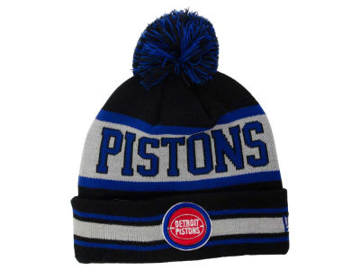 Detroit Pistons New Era NBA HWC Fashion Biggest Fan Knit