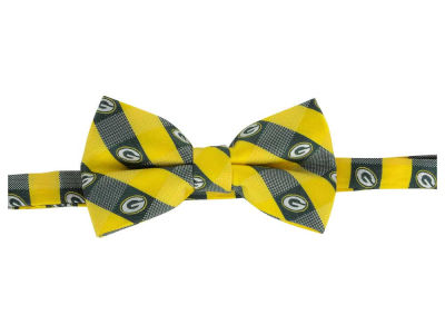 Green Bay Packers Bow Tie Checkered Repeat