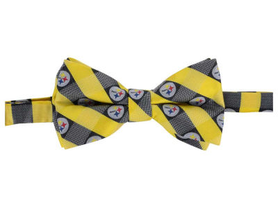 Pittsburgh Steelers Bow Tie Checkered Repeat
