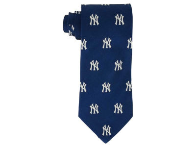 New York Yankees Prep Silk Repeat Tie