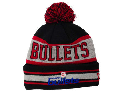 Washington Bullets New Era NBA HWC Fashion Biggest Fan Knit