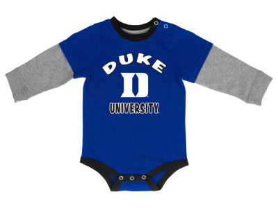 Duke Blue Devils NCAA Newborn Thermal Long Sleeve Creeper