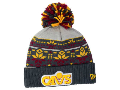 Cleveland Cavaliers New Era NBA HWC Flake & Shake Knit