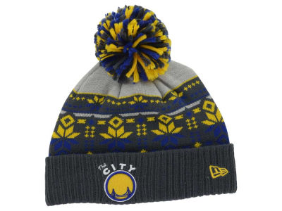 Golden State Warriors New Era NBA HWC Flake & Shake Knit