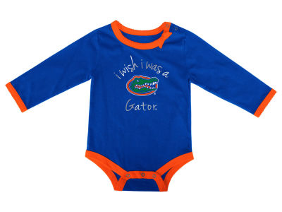 Florida Gators NCAA Infant I Wish Bow Creeper