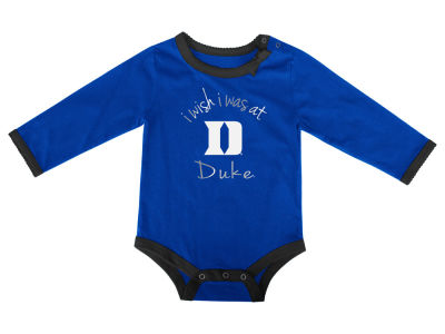 Duke Blue Devils NCAA Newborn I Wish Bow Creeper