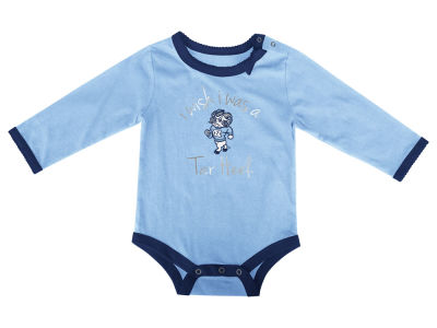 North Carolina Tar Heels NCAA Newborn I Wish Bow Creeper