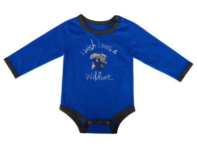 Kentucky Wildcats NCAA Newborn I Wish Bow Creeper