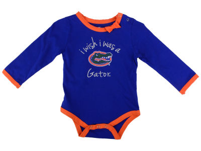 Florida Gators NCAA Newborn I Wish Bow Creeper
