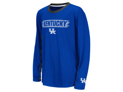 Kentucky Wildcats NCAA Youth Oil Slick Kicker Long Sleeve T-Shirt