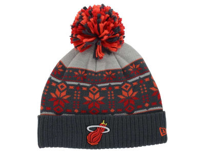Miami Heat New Era NBA HWC Flake & Shake Knit