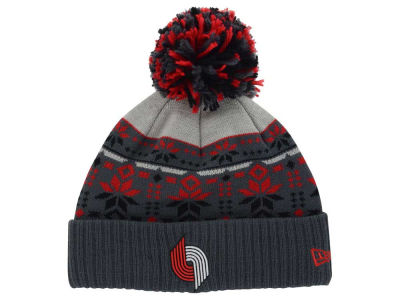 Portland Trail Blazers New Era NBA HWC Flake & Shake Knit