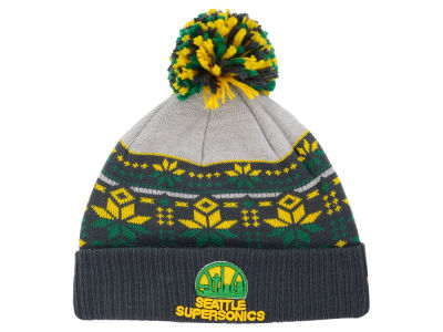 Seattle SuperSonics New Era NBA HWC Flake & Shake Knit