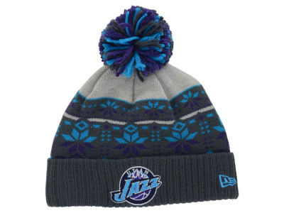 Utah Jazz New Era NBA HWC Flake & Shake Knit