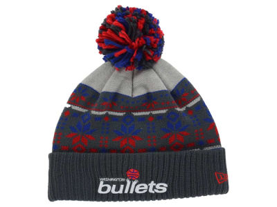 Washington Bullets New Era NBA HWC Flake & Shake Knit