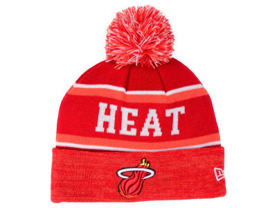Miami Heat New Era NBA HWC Marled Cuff Knit