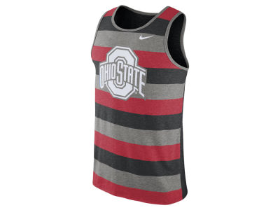 Ohio State Buckeyes Nike NCAA Men's Stadium Team First Striped Tank