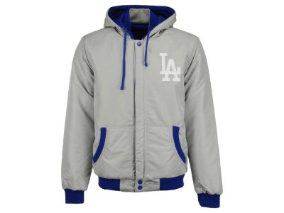 Los Angeles Dodgers MLB Men's 2tone Fleece Reversible Jacket