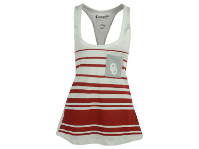 Oklahoma Sooners NCAA Women's 10 Yard Line Pocket Tank