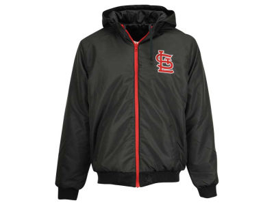 St. Louis Cardinals MLB Men's Revolution Hooded Jacket