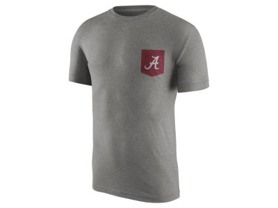 Alabama Crimson Tide Nike NCAA Men's Tri Resurge Pocket T-Shirt