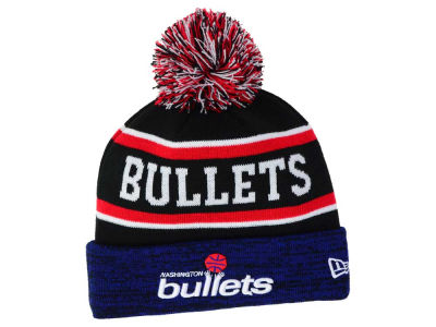Washington Bullets New Era NBA HWC Marled Cuff Knit