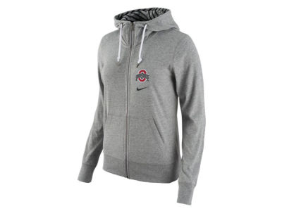 Ohio State Buckeyes Nike NCAA Women's Gym Vintage Light Weight Full Zip Hoodie