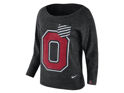 Ohio State Buckeyes Nike NCAA Women's Gym Vintage Pocket Crew Fleece