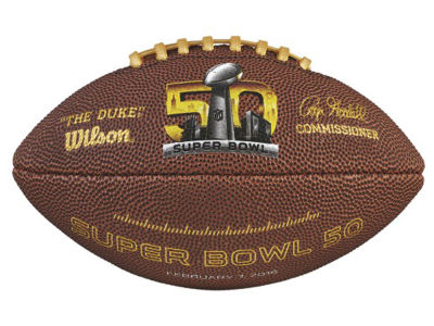 Super Bowl 50 NFL Super Bowl 50 Mini Replica Ball