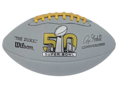 Super Bowl 50 NFL Super Bowl 50 Mini Gold Sponge Football