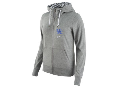 Kentucky Wildcats Nike NCAA Women's Gym Vintage Light Weight Full Zip Hoodie